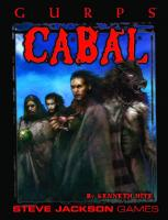 GURPS Classic: Cabal  1556344295