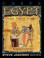 GURPS Classic: Egypt  1556343426