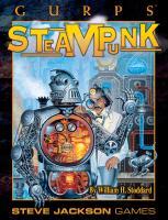 GURPS Classic: Steampunk  1556344198