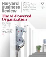 Harvard Business Review (July–August 2019)