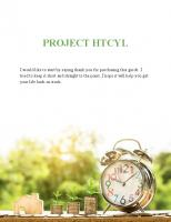 How To Change Your Life - Project HTCYL