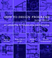How to Design Programs: An Introduction to Programming and Computing [2 ed.]