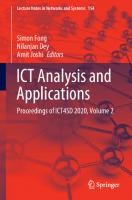 ICT Analysis and Applications: Proceedings of ICT4SD 2020, Volume 2 [1st ed.]  9789811583537, 9789811583544