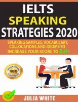 IELTS SPEAKING STRATEGIES 2020 (Properly Bookmarked)