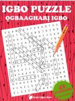 Igbo Puzzle - Ogbaaghari Igbo  099342869X, 9780993428692
