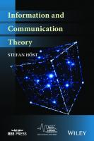 Information and Communication Theory  9781119433804, 1119433800
