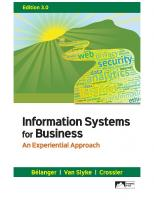 Information Systems for Business: An Experiential Approach [3]