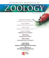 Integrated Principles of Zoology [15ed.]  0073040509, 9780073040509