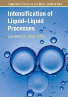 Intensification of Liquid–Liquid Processes