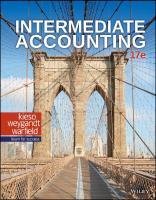 Intermediate Accounting [17thed.]  978-1-119-50368-2