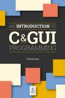 Introduction to C & GUI Programming  1912047659, 9781912047659