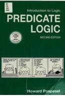 Introduction to Logic: Predicate Logic [2. ed.]  9780131649897, 0131649892