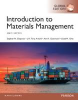 Introduction to materials management [Eighth edition]