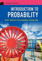 Introduction to Probability (Cambridge Mathematical Textbooks)  9781108415859