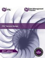 ITIL® service design [2nd edition]  9780113313051, 3513533543, 0113313055