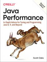 Java Performance - In-Depth Advice for Tuning and Programming Java 8, 11, and Beyond [true pdf]. [2ed.]  9781492056119