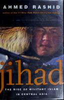 Jihad: The Rise of Militant Islam in Central Asia  0300093454