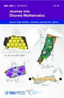 Journey Into Discrete Mathematics  1470446960, 9781470446963