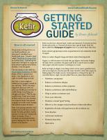 Kefir: Getting Started Guide