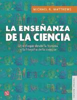 La enseñanza de la ciencia. Un enfoque desde la historia y filosofía de la ciencia  9786071651495