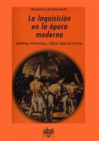 La Inquisición en la época moderna  8446008319