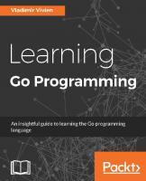Learning Go Programming  9781784392338, 1784392332
