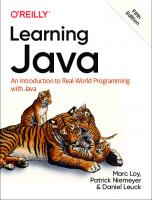Learning Java - An Introduction to Real-World Programming with Java --- [ True pdf - Final release ] [5ed.]  9781492056270