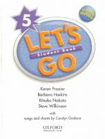 Let's Go: Level 5: Student's Book [5, 2ed.]