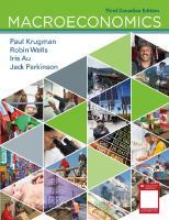 Macroeconomics: Canadian Edition [Third Edition, Canadian]  1319120083, 9781319120085
