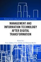 Management and Information Technology after Digital Transformation  0367612763, 9780367612764