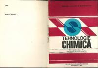 Manual pentru clasa a XI-a, licee cu profil de chimie industrială Tehnologie Chimică