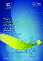 Mapping Research and Innovation in the Republic of Botswana [1]
