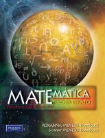 Matematica Bachillerato