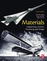 Materials: engineering, science, processing and design [Fourth edition]  9780081023761, 0081023766
