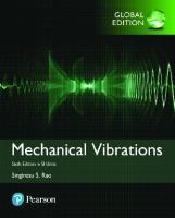 Mechanical vibrations [Sixth edition]  9780134361307, 013436130X, 1292178604, 9781292178608