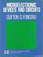 Microelectronic Devices and Circuits (MCGRAW HILL SERIES IN ELECTRICAL AND COMPUTER ENGINEERING)  0070214964, 9780070214965