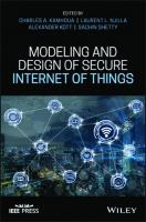 Modeling and Design of Secure Internet of Things  1119593360, 9781119593362