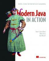 Modern Java in Action: Lambda, streams, functional and reactive programming [2ed.]  9781617293566