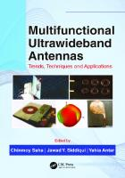 Multifunctional Ultrawideband Antennas: Trends, Techniques And Applications  1138553549,  9781138553545