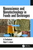 Nanoscience and nanotechnology in foods and beverages.  9781498760638, 1498760635