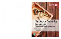Network security essentials: applications and standards [Global edition.,Sixth edition]