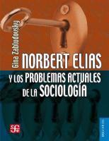 Norbert Elias y los problemas actuales de la sociología  9786071631374