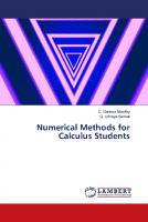 Numerical Methods for Calculus Students  9786139909865,  6139909864