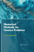 Numerical Methods for Inverse Problems  1774077078, 9781774077078