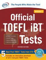 Official TOEFL TEST [1]  9780071848459