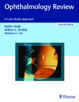 Ophthalmology Review: A Case-Study Approach [2nd Edition]