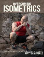 Overcoming Isometrics: Isometric Exercises for Building Muscle and Strength  9798639077517