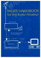 Pager handbook for the radio amateur  9781887736084, 1887736085