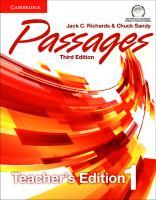 Passages Level 1 (Teacher's Edition) [3ed.]  9781107627680