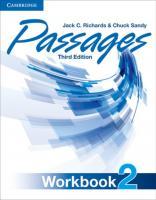 Passages Third Edition Workbook 2 [3ed.]  9781107627260